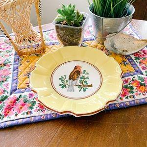 Vintage Decorative Bird Plate